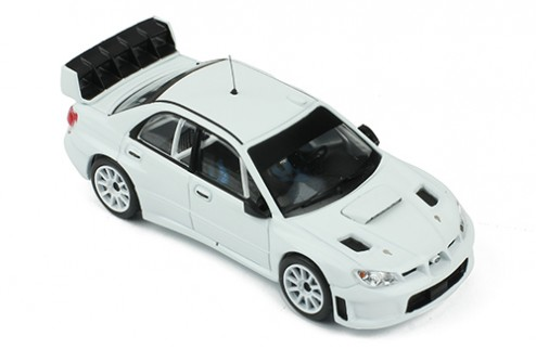 SUBARU IMPREZA S12B 2008 - All white  (2 set of wheels and tyres)