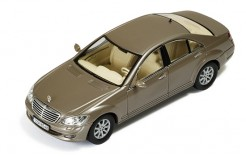 Mercedes S420 CDI (W221) 2006 Metallic Champagne (with Brown interior
