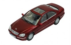 MERCEDES-BENZ S500 (W220) 2000 Darl Mettalic Red with Grey interiors