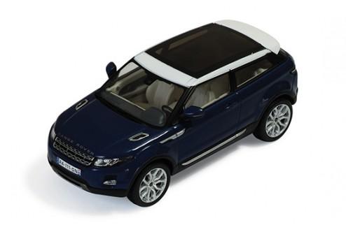 Range Rover Evoque 3 Doors 2011 Baltic Blue & White (interior White & Dark Grey)