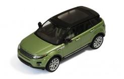 Range Rover Evoque 5 Doors 2011 Green (Lime) & Black (interior Black & Green)