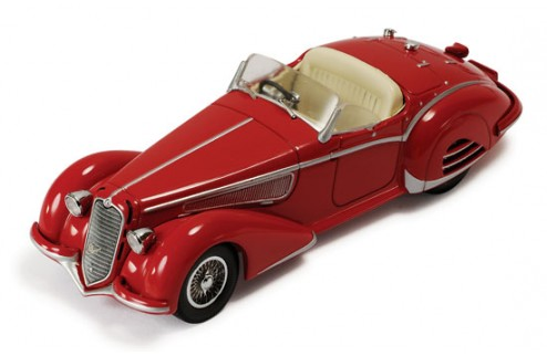 Alfa Romeo 8c 2900b 1938 Red