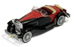 Duesenberg Ssj 1933 Black & Red