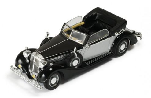 Horch 853a Cabriolet 1938 Black & Silver