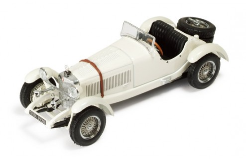 Mercedes-Benz Ssk 1928 White
