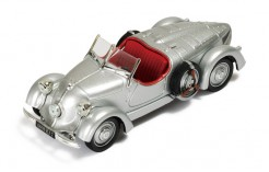Mercedes 150 Sport Roadster 1935 Silver (with Red interiors)
