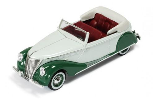 Renault Suprastella Coach 1939 2-Tones Green (Brown interiors)