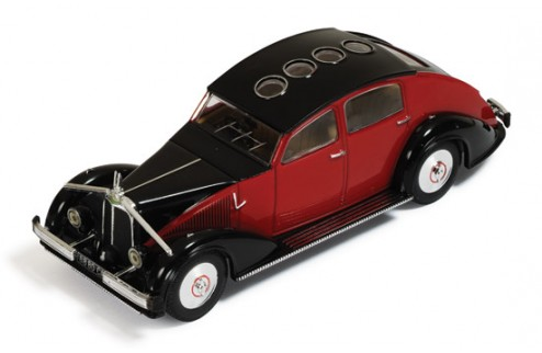 Voisin C25 Aerodyne 1934 Red & Black