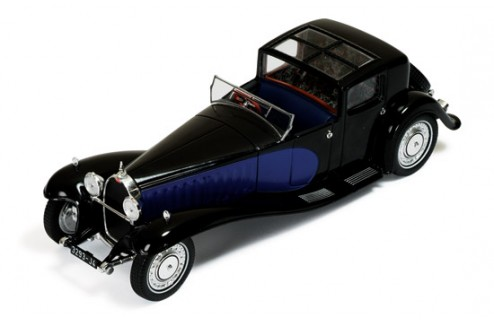 Bugatti Type 41 Royale 1928 Black & Dark Blue