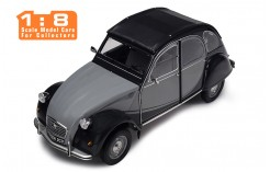 Citroën 2CV Charleston - Grey and Black - 1/8 SCALE