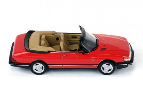 SAAB 900 TURBO CABRIOLET 1991 RED