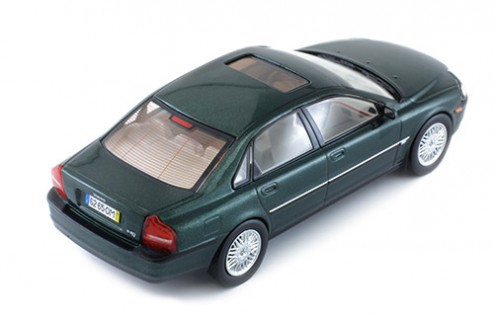 VOLVO S80 1999 METALLIC GREEN