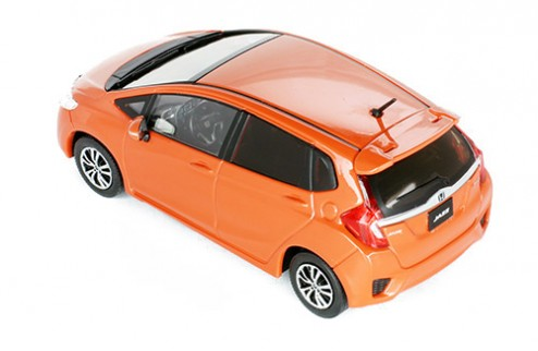 HONDA JAZZ 2015 Orange