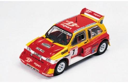 MG Metro 6r4 Rallye Des Garrigues 1985 D. Auriol Champion de France