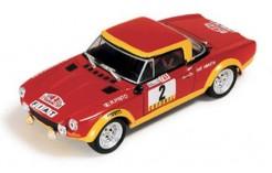 Fiat 124 Abarth R. Pinto-A. Bernacchini Winner Rallye Portugal 1974