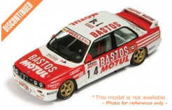 BMW M3 (Bastos) #-14 F. Chatriot-M. Perin Tour de Corse 1989
