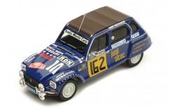 CITROËN DYANE #162 M. Peyret-J. J. Cornelli  Rallye Monte-Carlo 1978