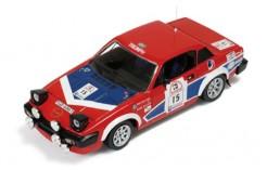 Triumph TR7 V8 #15 P. Eklund-H. Sylvan Rally 1000 Lakes 1980