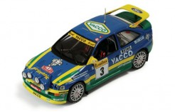 Ford Escort Cosworth (Yacco) #3 P. Bernardini-B. Occelli Winner Rally Monte Carlo 1996 (with night lights)