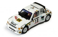 Peugeot 205 Turbo 16v Evo 2 #10 M. Mouton-Arrii Rally Monte Carlo 1986