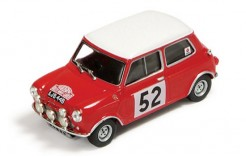 BMC Cooper S #52 T. Makinen-P. Easter Winner Rally Monte Carlo 1965