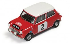 BMC Cooper S #2 T. Makinen-P. Easter Winner Rally Monte Carlo 1966 (disqualified)