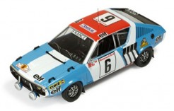 Renault 17 Gordini #6 Therier-Vial Rally Du Maroc 1974