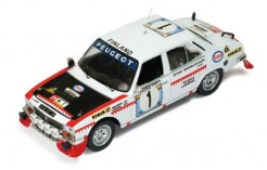 Peugeot 504 #1 T. Makinen-H. Liddon Rally Safari 1975