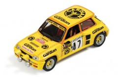 Renault 5 Turbo #47 P. Rouby-A. Giron Rally Monte Carlo 1982