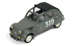 Citroen 2CV #319 M. Bernier-J. Duvey Monte Carlo 1954 (Using 3000 Pcs Parts In Stock)
