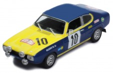 FORD Capri #10 W. Röhrl-J. Berger Rajd Polski 1972