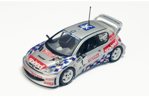 "PEUGEOT 206WRC ""A-ONLINE"" R.SPERRER winner A1-RING RALLY 2001"