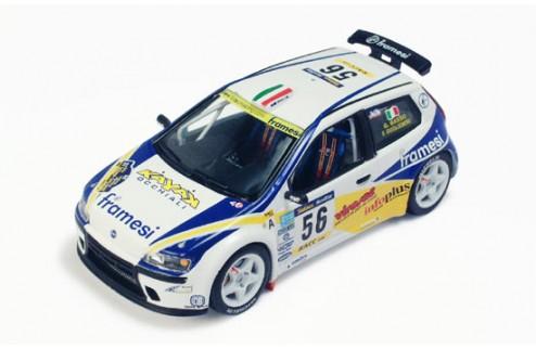 "FIAT PUNTO SUPER 1600 ""FRAMESI"" G.BASSO RALLYE CATALUNYA 2001"