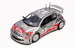 Peugeot 206WRC M. Gronholm Winner Great Britain Rally 2001