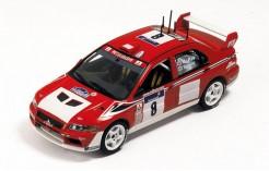 Mitsubishi Lancer WRC A. Mcrae-D. Senior Tour de Corse 2002