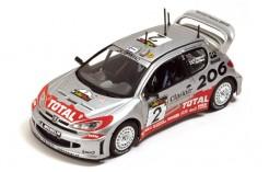 Peugeot 206WRC M. Gronholm-T. Rautianen Winner Cyprus Rally 2002