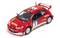 Peugeot 206WRC M. Gronholm-T. Rautiainen Winner Swedish Rally 2003