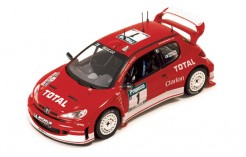 "PEUGEOT 206WRC ""RED"" M.GRONHOLM-T.RAUTIAINEN winner NEW ZEALAND 2003"