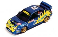 Subaru WRC (Burri) #63 O. Burri-J. P. Patthey Rally Monte Carlo 2004