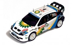 Ford Focus Evo Duval 3rd Rally Monte Carlo 2004