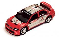 Mitsubishi Lancer Evo VIII WRC #9 G. Panizzi-H. Panizzi Rally Monte Carlo 2004