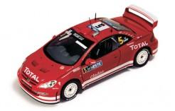 Peugeot 307 WRC M. Gronholm - T. Rautiainen - Winner Rally Finland 2004
