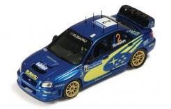 Subaru Impreza WRC #2 M. Hirvonen-J. Lehtinen Tour de Corse 2004