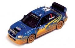 Subaru Impreza WRC #2 M. Hirvonen-J. Lehtinen Rally Mexico 2004 W- dirty effects