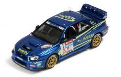 Subaru Impreza WRC #1 S. Sarrazin-P. Pivato Championnat de France - Rally du Var 2004