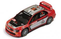 Mitsubishi Lancer WRC #10 Panizzi-Panizzi 3rd Rally Monte Carlo 2005