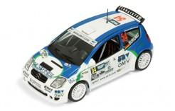 Citroen C2 S1600 #54 (OMV) A. Burkart-T. Geilhausen Rally Germany 2006