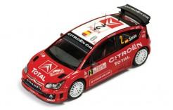 Citroen C4 WRC #2 D. Sordo - M. Marti 11th Rally Monte Carlo 2008