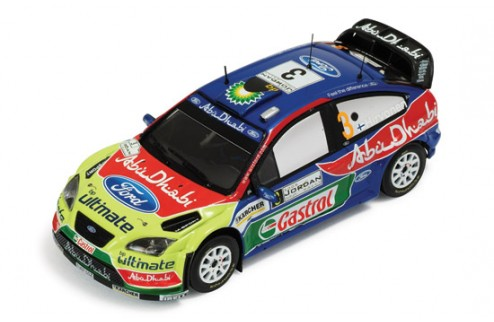 Ford Focus RS 07 WRC #3 M. Hirvonen - J. Lehtinen Winner Rally Jordan 2008
