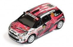 Citroen DS3 R3 #100 D. Elena-O. Campana Rally Monte Carlo IRC 2011